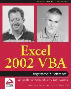 Cover-Bild zu Bovey, Rob: Excel 2002 VBA (eBook)