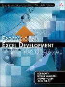 Cover-Bild zu Bovey Rob: Professional Excel Development (eBook)