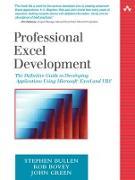 Cover-Bild zu Bullen, Stephen: Professional Excel Development (eBook)