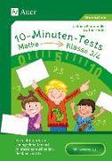 Cover-Bild zu 10-Minuten-Tests Mathematik - Klasse 3/4 von Herrler, Dörthe