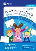 Cover-Bild zu 10-Minuten-Tests Mathematik - Klasse 1/2 von Herrler, Dörthe