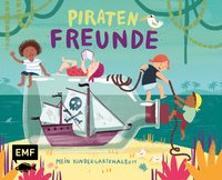 Cover-Bild zu Hänsch, Lisa (Illustr.): Piratenfreunde - Mein Kindergartenalbum
