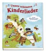 Cover-Bild zu Unsere schönsten Kinderlieder von Krätschmer, Marion (Illustr.)
