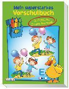 Cover-Bild zu Mein superstarkes Vorschulbuch von Ortega, Christian