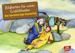 Cover-Bild zu Bildkarten für unser Erzähltheater: Der barmherzige Samariter von Lefin, Petra (Illustr.)
