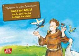 Cover-Bild zu Bildkarten für unser Erzähltheater: Franz von Assisi - Die Geschichte des heiligen Franziskus von Herrmann, Bettina