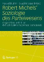 Cover-Bild zu Bluhm, Harald (Hrsg.): Robert Michels' Soziologie des Parteiwesens