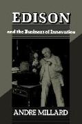 Cover-Bild zu Millard, André: Edison and the Business of Innovation