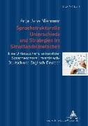 Cover-Bild zu Sprachstrukturelle Unterschiede und Strategien im Simultandolmetschen (eBook) von Niemann, Anja Jane
