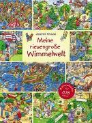 Cover-Bild zu Loewe Wimmelbücher (Hrsg.): Meine riesengroße Wimmelwelt