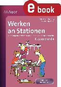 Cover-Bild zu Werken an Stationen 3/4 (eBook) von Henning, Christian