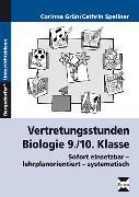 Cover-Bild zu Vertretungsstunden Biologie 9./10. Klasse von Grün, Corinna