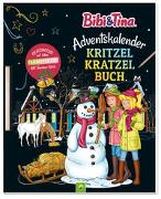 Cover-Bild zu Bibi & Tina Adventskalender Kritzel-Kratzel-Buch von Lindenroth, Nicole