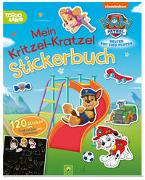 Cover-Bild zu PAW Patrol Mein Kritzel-Kratzel Stickerbuch