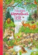 Cover-Bild zu Mein großes Wimmelbuch Tiere von Schwager & Steinlein Verlag