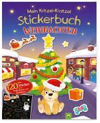 Cover-Bild zu Mein Kritzel-Kratzel-Stickerbuch Weihnachten