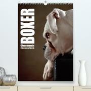Cover-Bild zu Behr, Jana: Boxer - Charmante Charakterköpfe (Premium, hochwertiger DIN A2 Wandkalender 2021, Kunstdruck in Hochglanz)