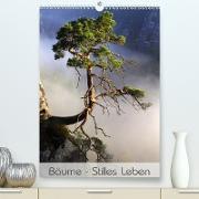 Cover-Bild zu Behr, Jana: Bäume - Stilles Leben (Premium, hochwertiger DIN A2 Wandkalender 2021, Kunstdruck in Hochglanz)
