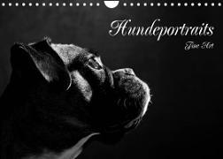 Cover-Bild zu Behr, Jana: Hundeportraits Fine Art (Wandkalender 2022 DIN A4 quer)