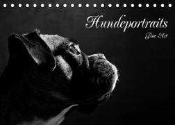 Cover-Bild zu Behr, Jana: Hundeportraits Fine Art (Tischkalender 2022 DIN A5 quer)