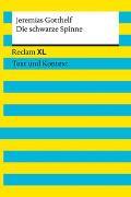 Cover-Bild zu Gotthelf, Jeremias: Die schwarze Spinne. Textausgabe mit Kommentar und Materialien