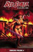 Cover-Bild zu Eric Trautmann: Red Sonja: She-Devil with a Sword Omnibus Volume 4