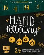 Cover-Bild zu Mein Adventskalender-Buch: Handlettering X-Mas!