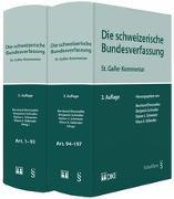 Cover-Bild zu Ehrenzeller, Bernhard (Hrsg.): Die Schweizerische Bundesverfassung