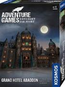 Cover-Bild zu Adventure Games - Grand Hotel Abaddon