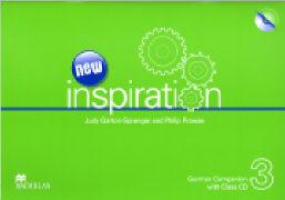 Cover-Bild zu New Inspiration 3. German Companion von Garton-Sprenger, Judy