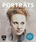 Cover-Bild zu Porträts realistisch zeichnen und malen