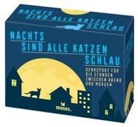 Cover-Bild zu Dornzalski, Bettina: Nachts sind alle Katzen schlau
