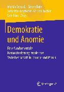 Cover-Bild zu Sebaldt, Martin (Hrsg.): Demokratie und Anomie (eBook)
