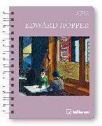 Cover-Bild zu Hopper, Edward: Edward Hopper 2022 - Diary - Buchkalender - Taschenkalender - Kunstkalender - 16,5x21,6
