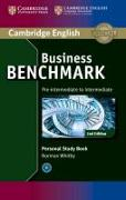 Cover-Bild zu Business Benchmark Pre-intermediate to Intermediate BULATS and Business Preliminary Personal Study Book von Whitby, Norman