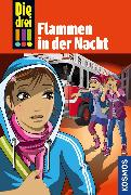 Cover-Bild zu Vogel, Maja von: Die drei !!!, 63, Flammen in der Nacht (drei Ausrufezeichen) (eBook)