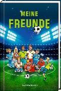 Cover-Bild zu Freundebuch - Meine Freunde - Fußballfreunde von Reiner Stolte (Illustr.)