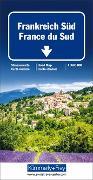 Cover-Bild zu Frankreich Süd Strassenkarte. 1:600'000 von Hallwag Kümmerly+Frey AG (Hrsg.)