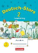 Cover-Bild zu Deutsch-Stars, Allgemeine Ausgabe, 2. Schuljahr, Lesetraining, Übungsheft, Mit Lösungen