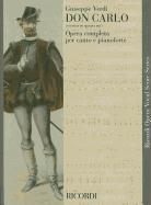 Cover-Bild zu Verdi, Giuseppe (Komponist): Don Carlos (4 Acts): Vocal Score
