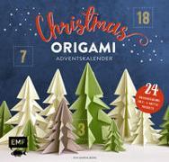 Cover-Bild zu Mein Adventskalender-Buch: Origami Christmas von Berg, Eva Maria