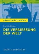 Cover-Bild zu Kehlmann, Daniel: Die Vermessung der Welt von Daniel Kehlmann