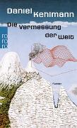 Cover-Bild zu Kehlmann, Daniel: Die Vermessung der Welt