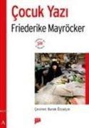 Cover-Bild zu Mayröcker, Friederike: Cocuk Yazi
