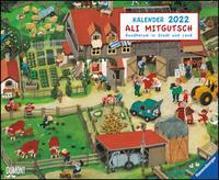 Cover-Bild zu Mitgutsch, Ali (Illustr.): Ali Mitgutsch 2022 - Wimmelbilder - DUMONT Kinder-Kalender - Querformat 52 x 42,5 cm - Spiralbindung