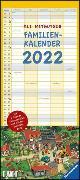 Cover-Bild zu Mitgutsch, Ali (Illustr.): Ali Mitgutsch Familienkalender 2022 - Wandkalender - Familienplaner mit 5 Spalten - Format 22 x 49,5 cm