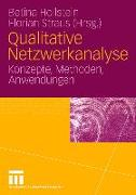 Cover-Bild zu Hollstein, Betina (Hrsg.): Qualitative Netzwerkanalyse