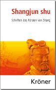 Cover-Bild zu Vogelsang, Kai (Hrsg.): Shangjun shu