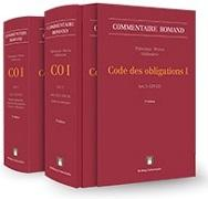 Cover-Bild zu Thévenoz, Luc (Hrsg.): Code des obligations I