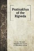 Cover-Bild zu Saunaka, Uvata: Pratisakhya of the Rigveda